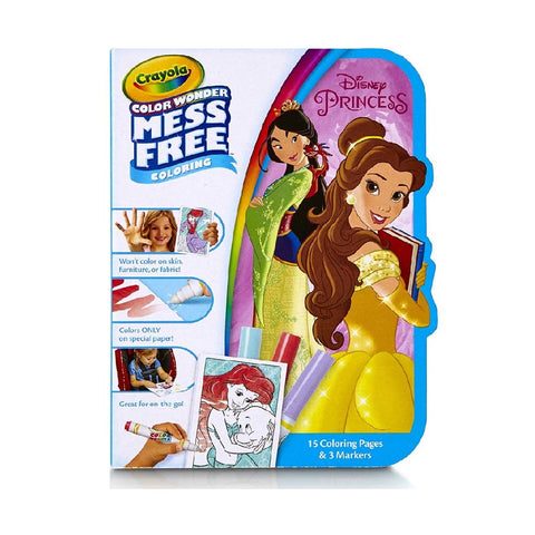 Crayola Colour Wonder On the Go - Disney Princess