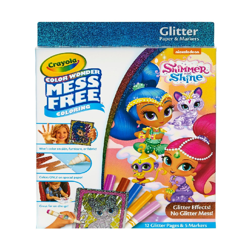 Crayola Colour Wonder - Shimmer and Shine