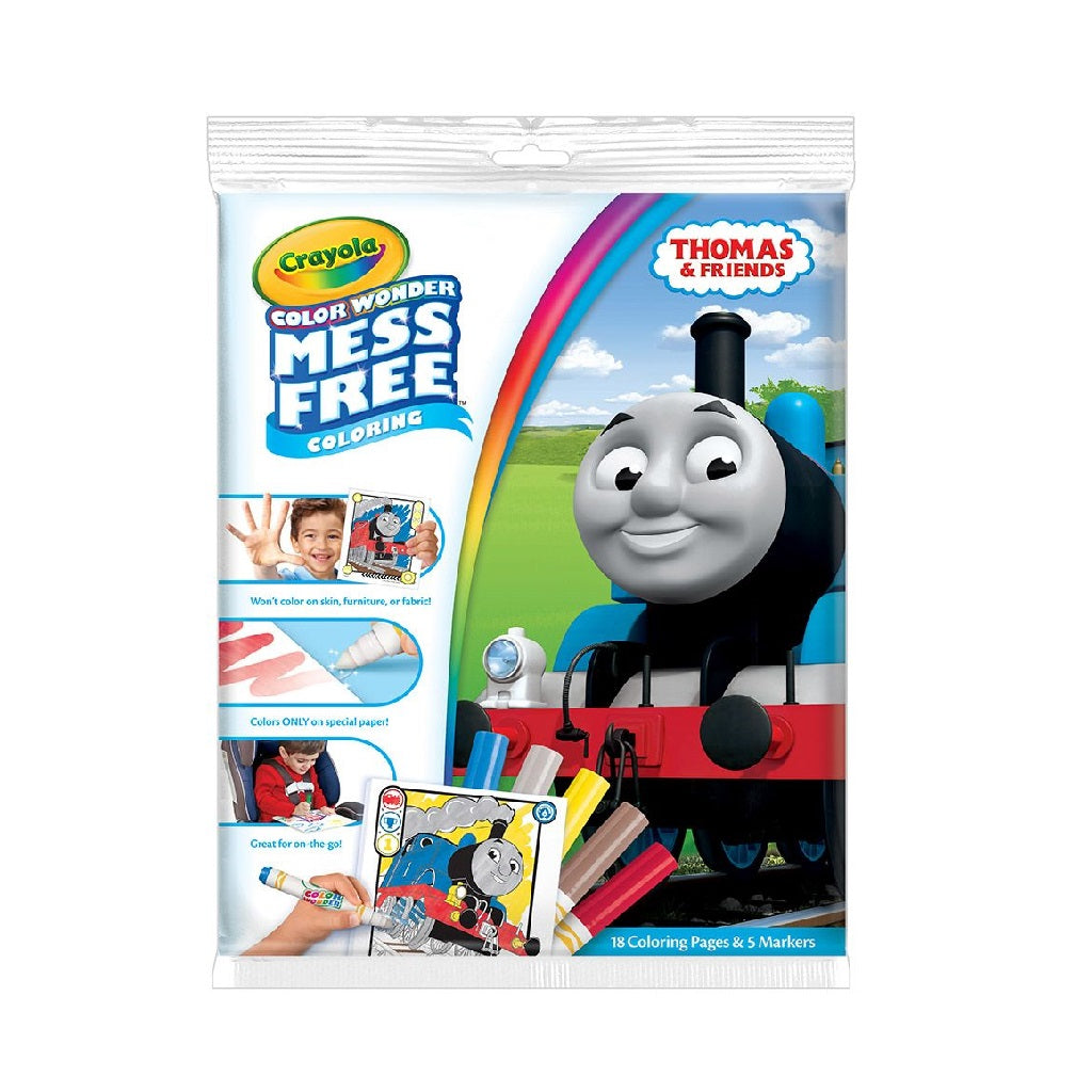 Crayola Colour Wonder Overwrap - Thomas and Friends