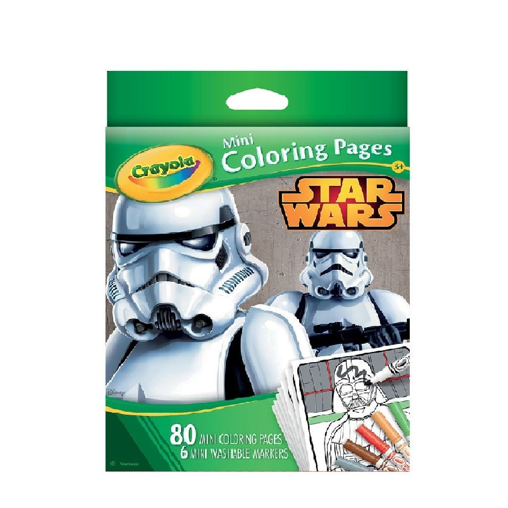 Crayola Mini Colouring Pages (Star Wars)