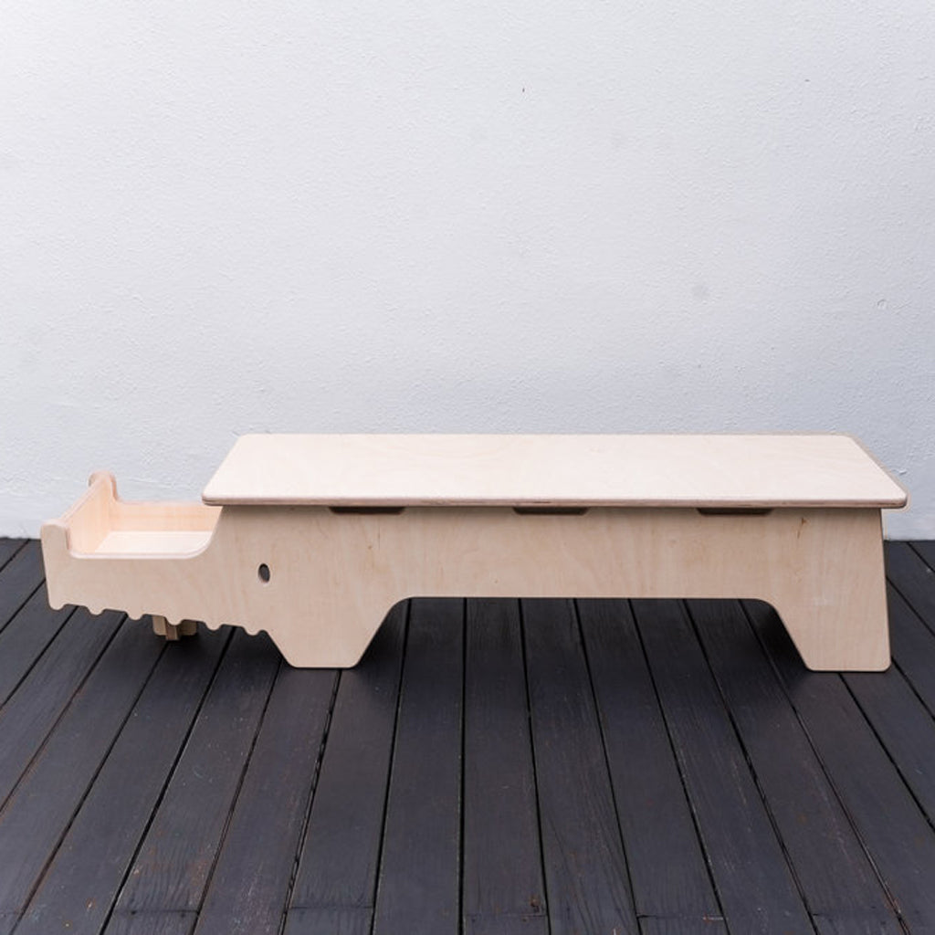 Essa Grace Sophia Crocodile Bench