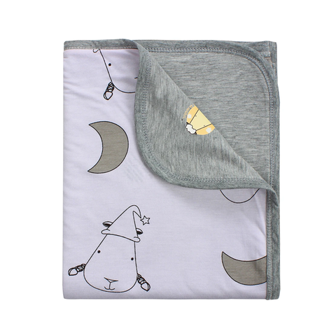 Baa Baa Sheepz Double Layer Blanket Big Moon & Sheepz