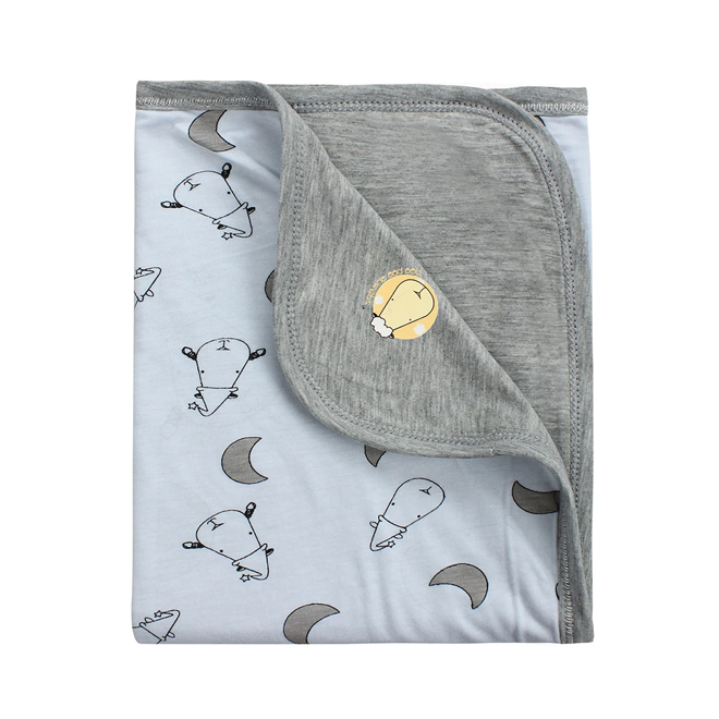 Baa Baa Sheepz Double Layer Blanket Small Moon & Sheepz