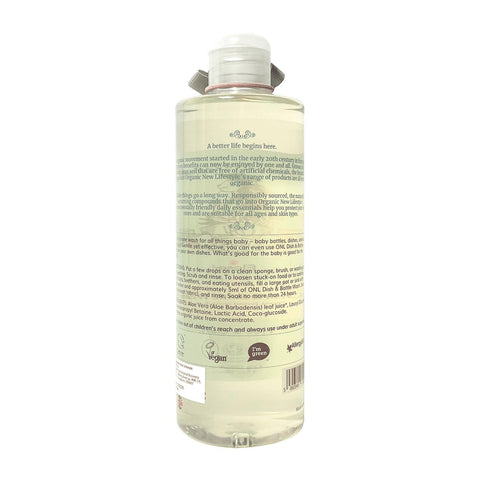 Organic New Lifestyle Dish & Bottle Wash 500ml
