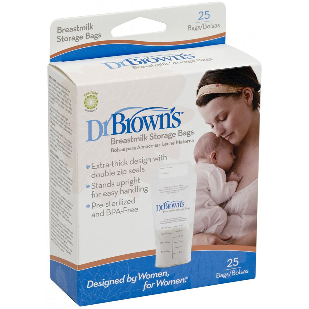 Dr Brown's Breast Milk Storage Bags