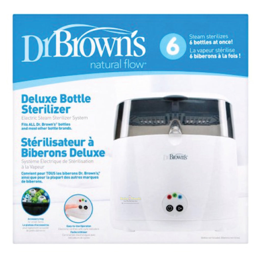 Dr Brown's Deluxe Bottle Sterilizer with Cycle Indicator