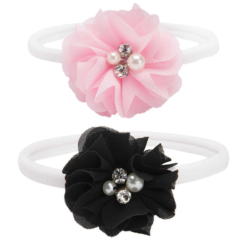 Elegant Baby Flower Headband Pack of 2
