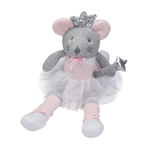 Elegant Baby Mousie Knittie Bittie Toy