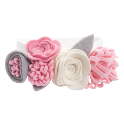 Elegant Baby Multi-Flower Headband