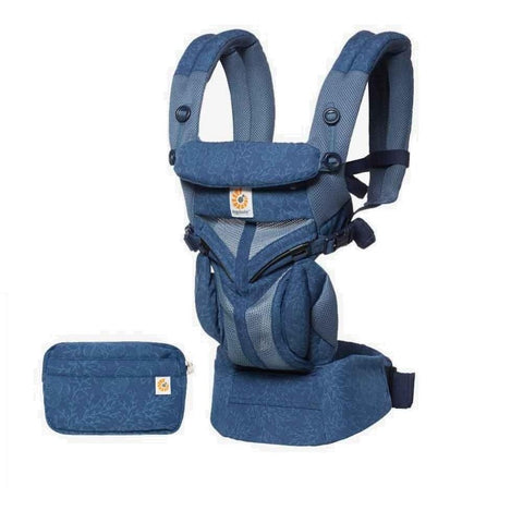 Ergobaby Omni 360 Cool Air Mesh Carrier - Blue Blooms
