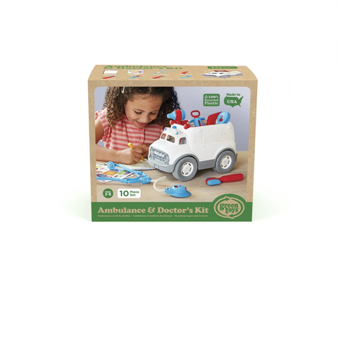 Green Toys-Ambulance & Doctor Kits