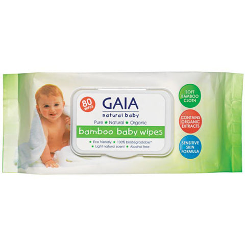 Gaia Baby Bamboo Wipes