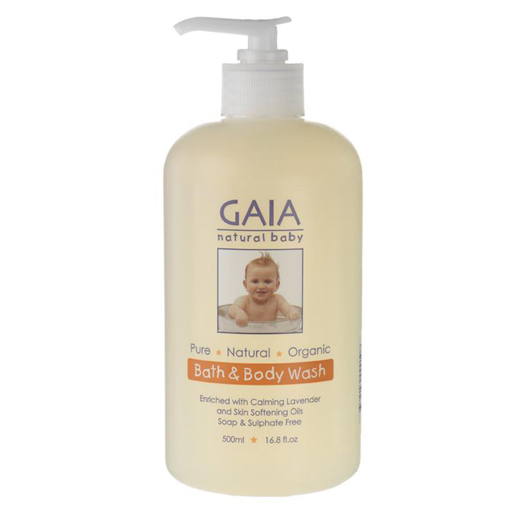 Gaia Baby Bath and Body Wash