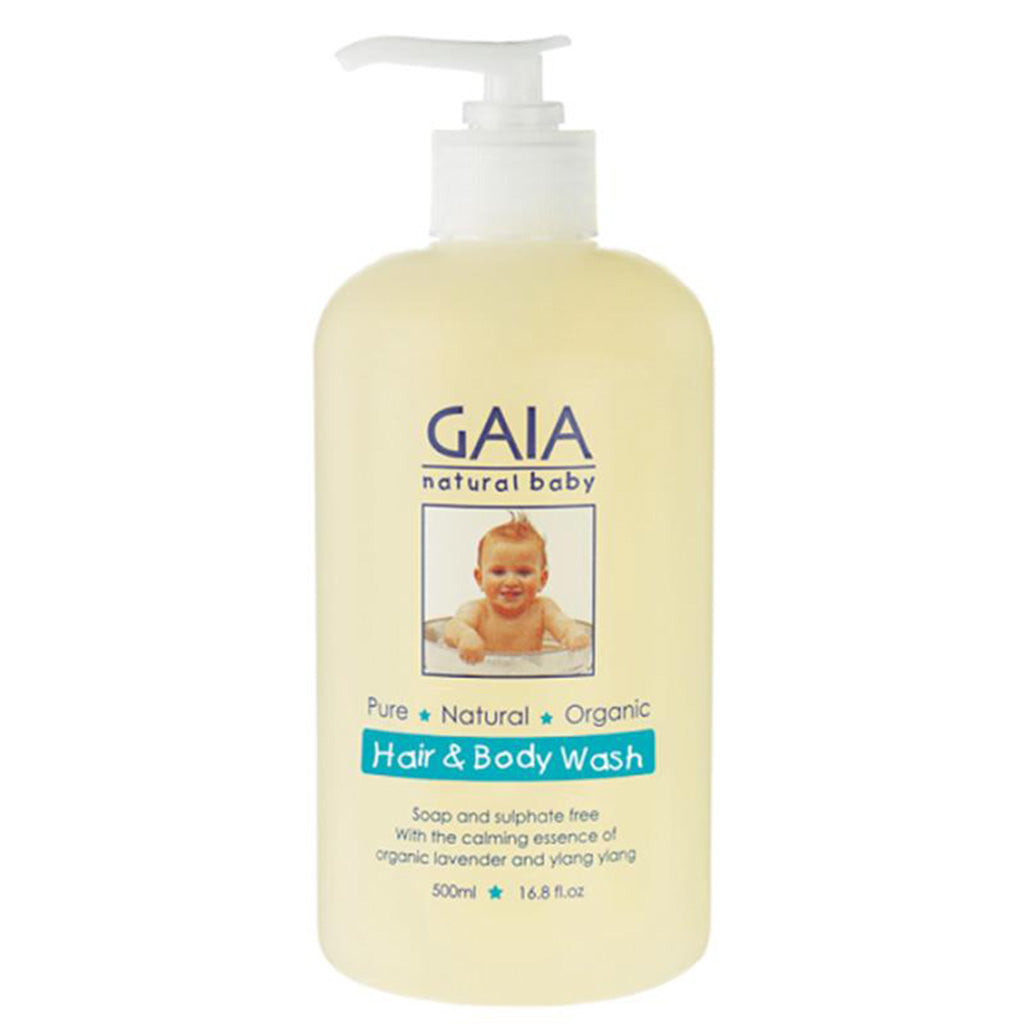 Gaia Baby Hair and Body Wash