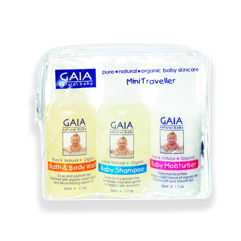 Gaia Baby Mini Travel Set - 3x50ml