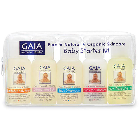 Gaia Baby Starter Kit - 5x50ml