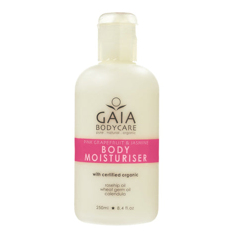 Gaia Body Moisturiser Pink Grapefruit & Jasmine - 250ml