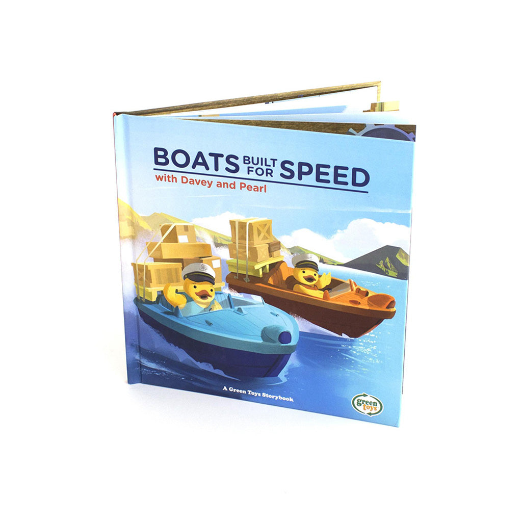 Green Toys Boats Built for Speed Book