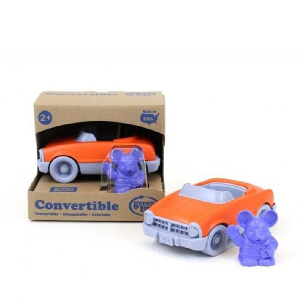 Green Toys Convertible with Characters
