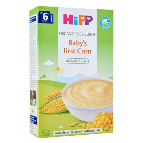 HiPP Organic Baby's First Corn Baby Cereal