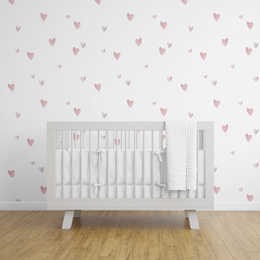 Urban Li'l Hearts Fabric Decal