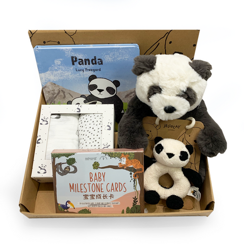 Bashful Panda Jellycat Gift Set
