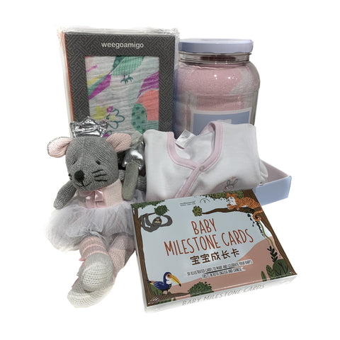 Cambrass Gift Hamper for Newborn - Girls