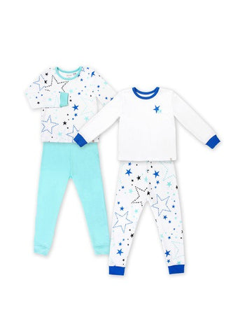 Oeteo Starry Gaze Jammies 4-Piece Bundle Set