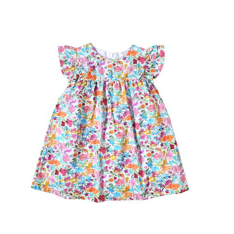 Sea Apple In Bloom Liberty Babydoll Dress
