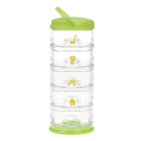 Innobaby Packin' Smart Stackables 5 Tier Storage System Lime