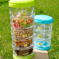 Innobaby Packin' Smart Stackables 5 Tier Storage System Blueberry