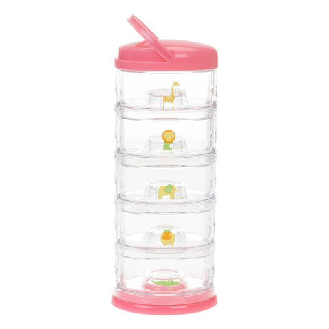 Innobaby Packin' Smart Stackables 5 Tier Storage System Strawberry