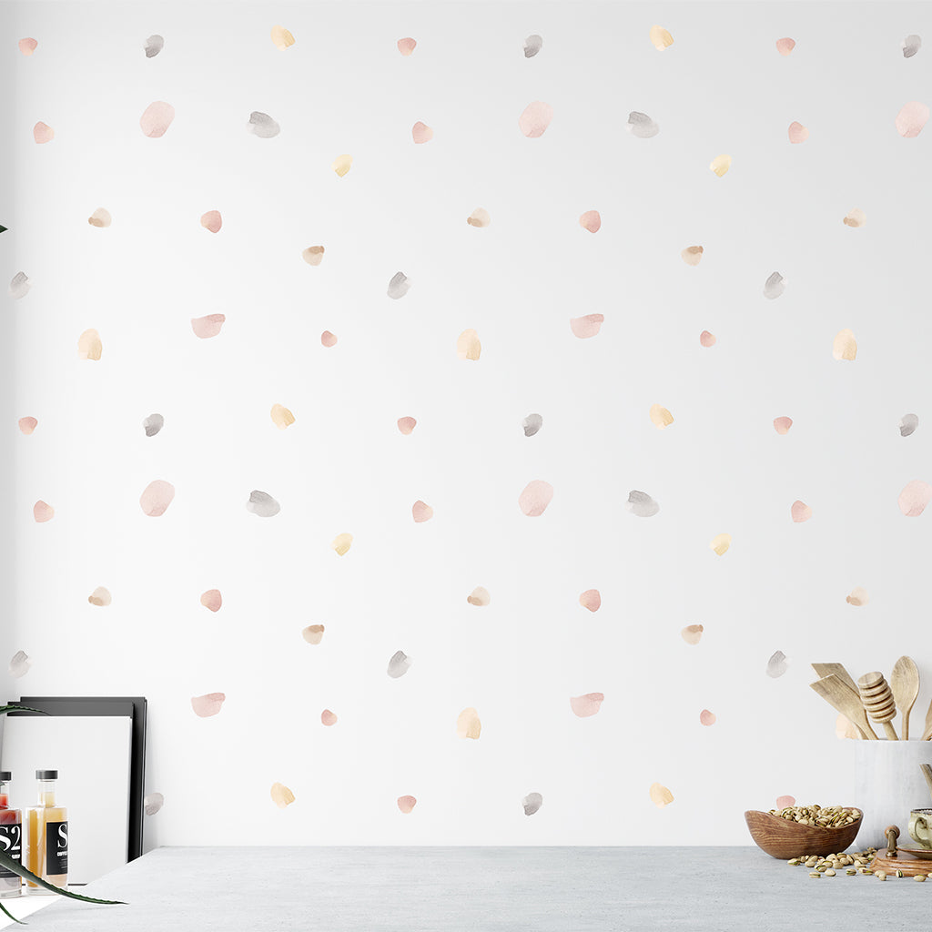 Urban Li'l Irregular Blobs Fabric Decal