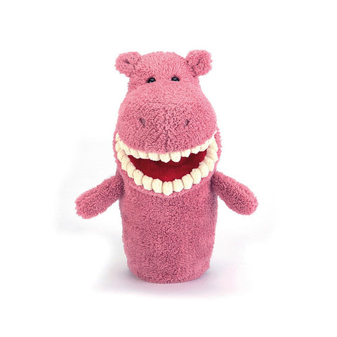 Jellycat Toothy Hippo Hand Puppet
