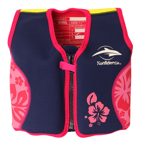 Konfidence Float Jacket Hibiscus