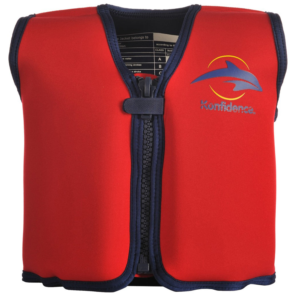 Konfidence Float Jacket Red