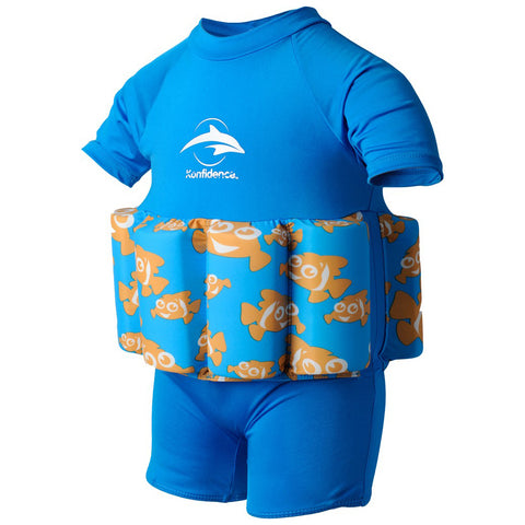 Konfidence Float Suit Clownfish (1-2 years)