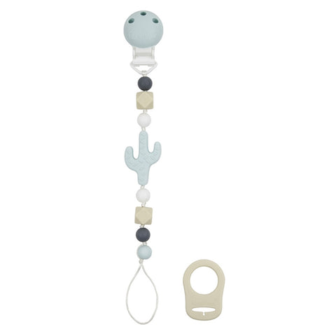 Kushies Silibeads Pacifier Clip - Cactus