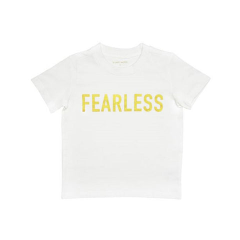 "Le Petit Society Kids ""Fearless"" Tee"