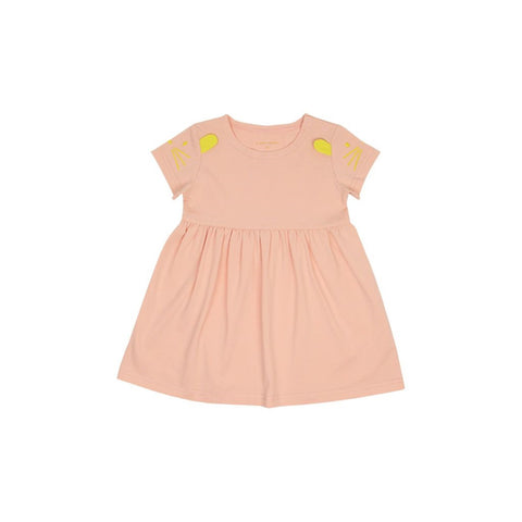 Le Petit Society Mouse Series - Baby Girl Jersey Doll Dress
