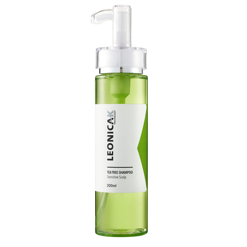 Leonica K Tea Tree Sensitive Scalp Shampoo