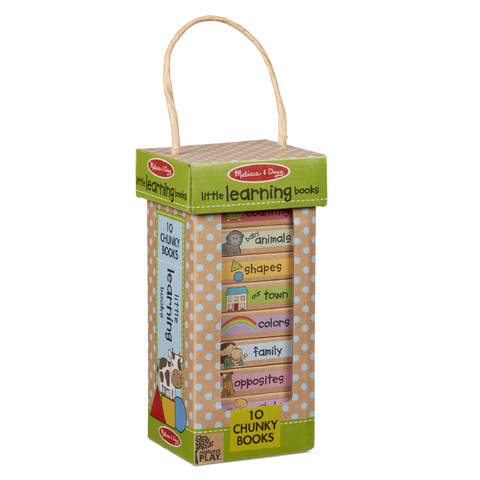 Melissa & Doug Natural Play Book Tower