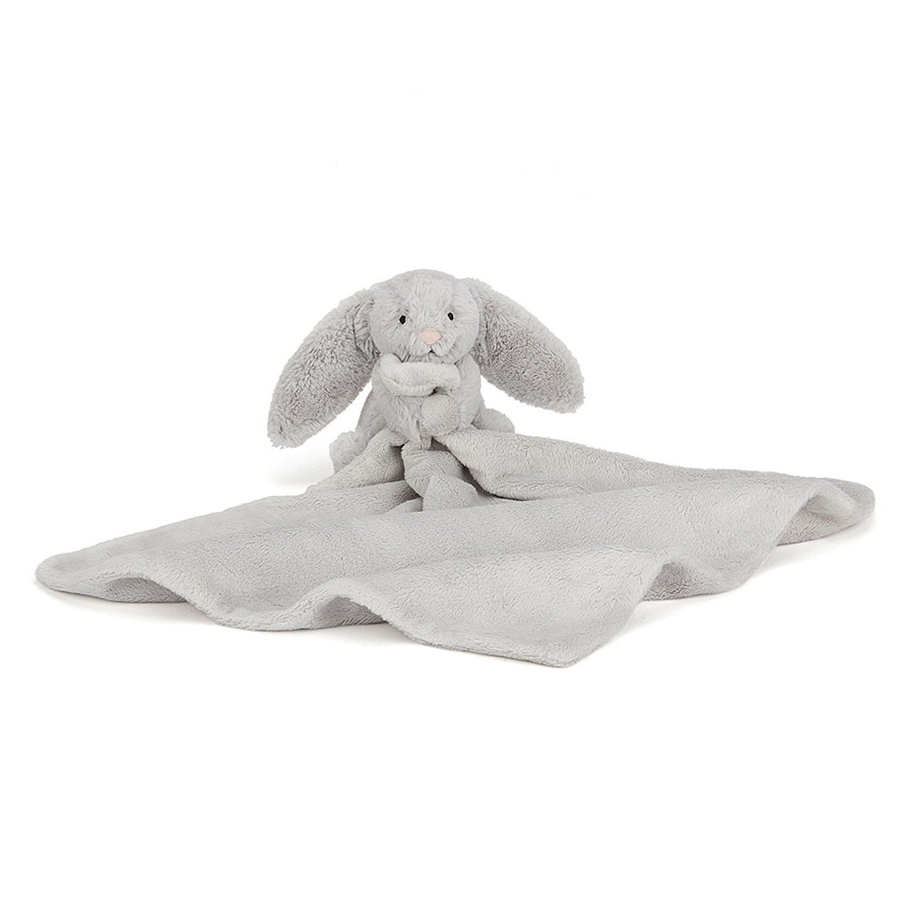 Little Jellycat Silver Bunny Soother