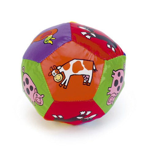 Little Jellycat Farm Tails Boing Ball