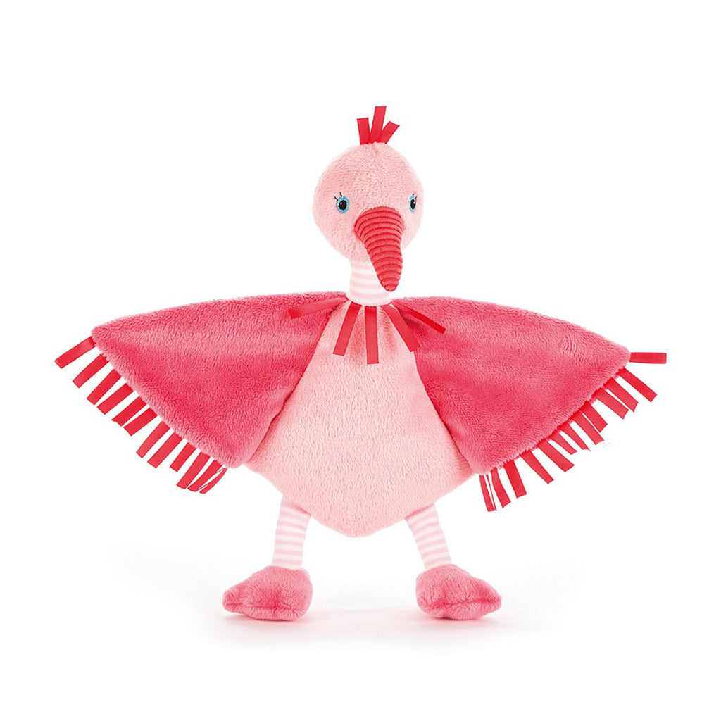 Little Jellycat Flapper Flamingo Soother