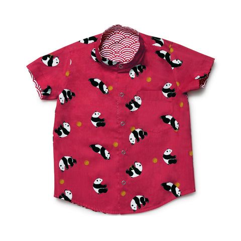 MAISON Q Little Kai Reversible Shirt