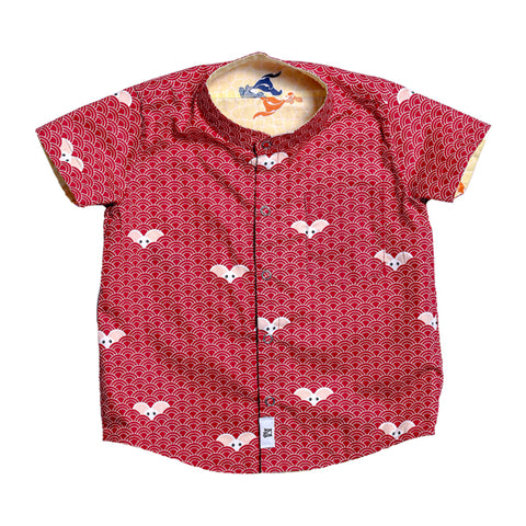 MAISON Q Little Tangmi Reversible Shirt