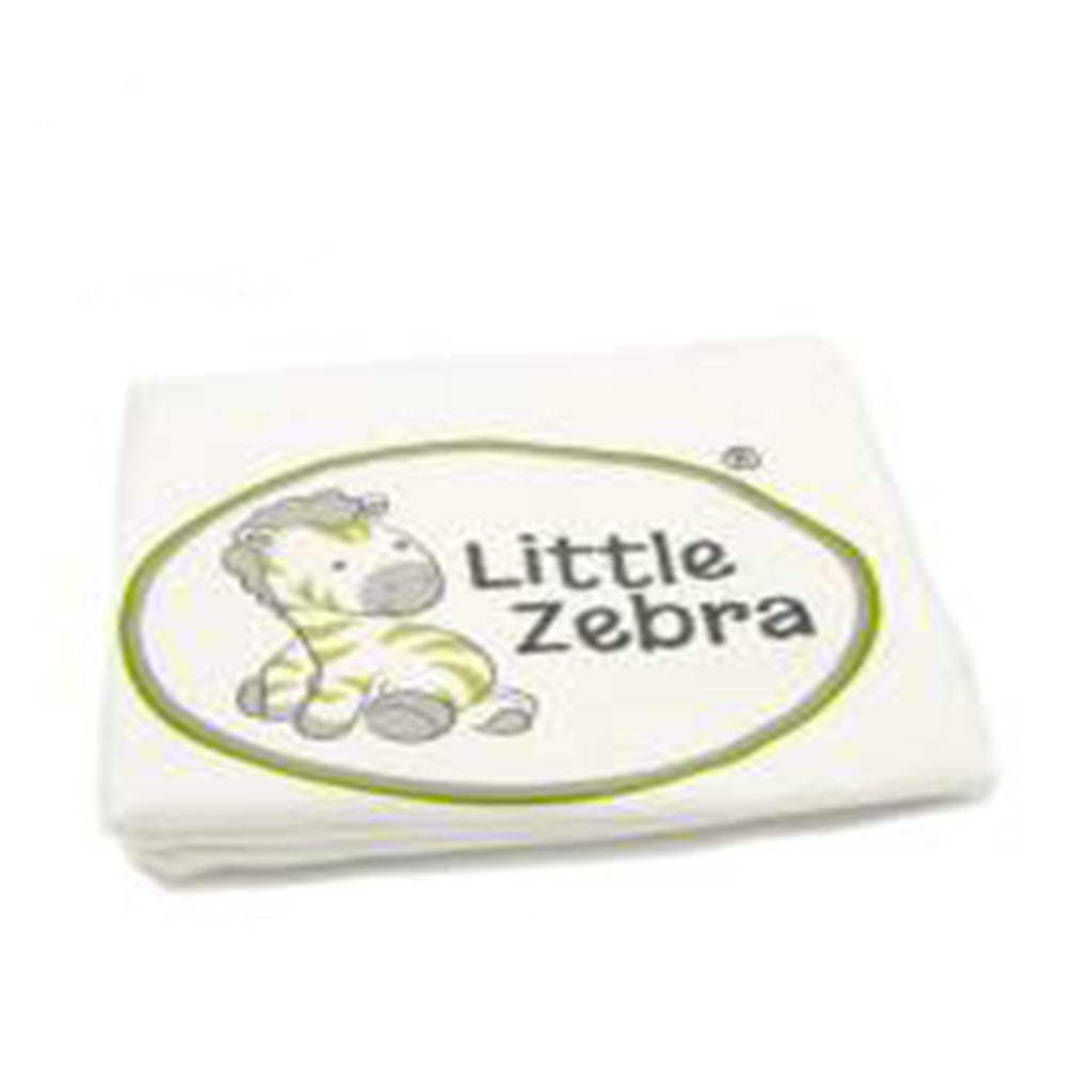 Little Zebra Cream Bolster Cover