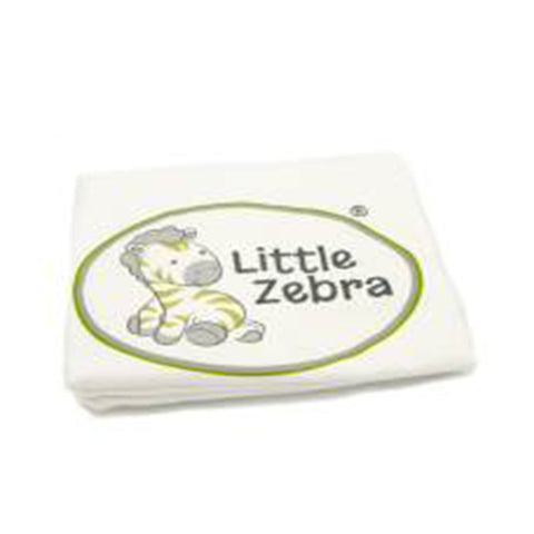 Little Zebra Baby Buddy Pillow Case - Cream