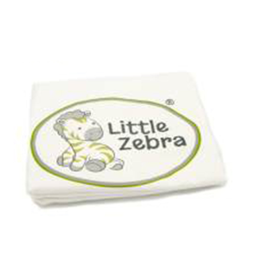Little Zebra Small Contour Pillow Case Cream